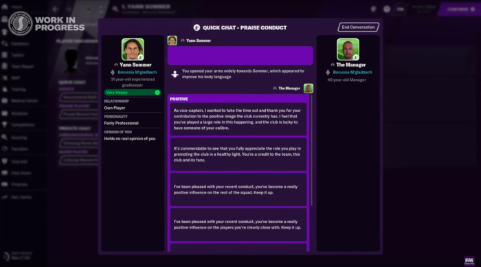 interview joueurs football manager 2021